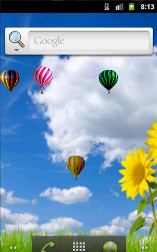 Balloons Live Wallpaper Free