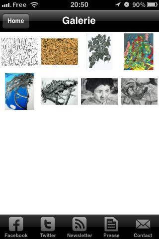 Drawing Gallery App - screenshot