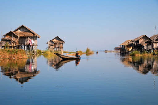 Inle-Lake-Myanmar - Inle Lake is a picturesque fresh-water lake in Myanmar. At the end of your river cruise aboard the AmaPura, consider adding a post-cruise stay of three nights at Inle Lake and one night in Yangon.