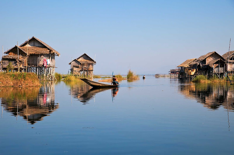 Inle Lake is a picturesque fresh-water lake in Myanmar. At the end of your river cruise aboard the AmaPura, consider adding a post-cruise stay of three nights at Inle Lake and one night in Yangon.