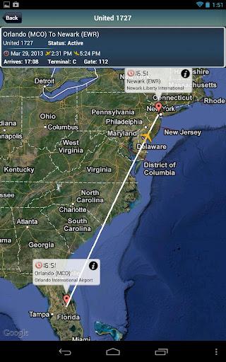 Newark Airport +Flight Tracker