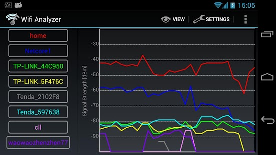 Wifi Analyzer - screenshot thumbnail