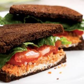 Salmon Salad Sandwich.