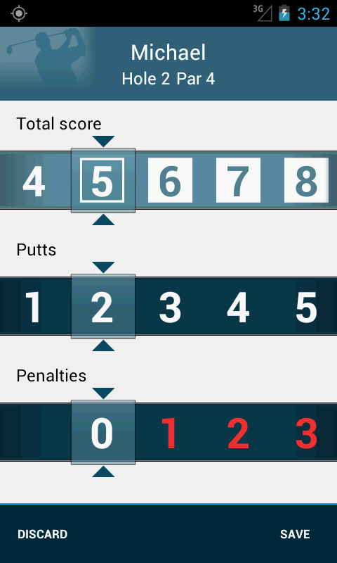 Golf GPS Rangefinder: Golf Pad - screenshot