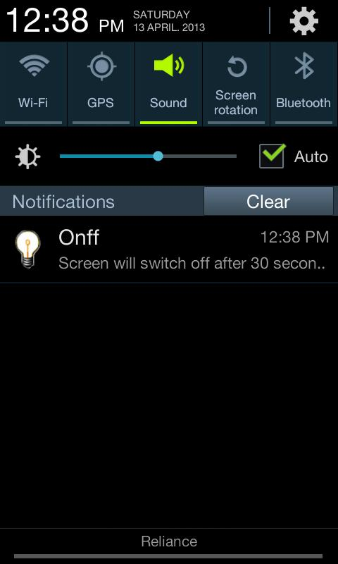 Onff - screenshot