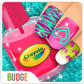 Crayola Nail Party: Nail Salon