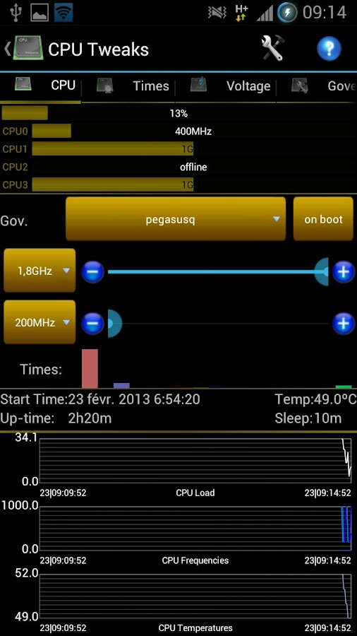 Android Tuner Free - screenshot