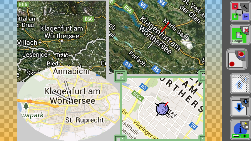 APicMashup - HD collage with maps- screenshot