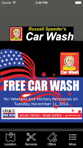 Russell Speeders Car Wash