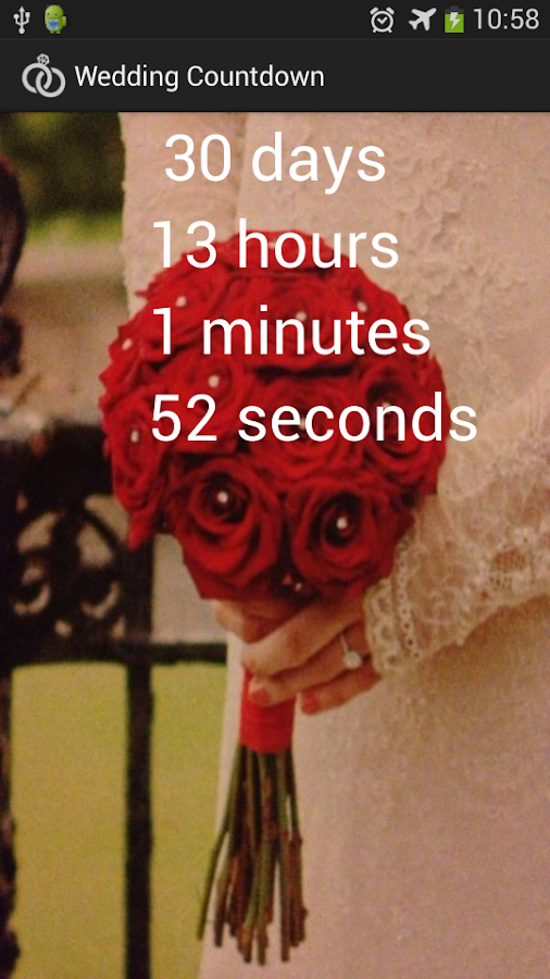 Wedding Countdown - screenshot