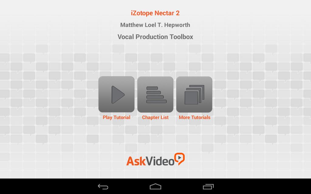Izotope App