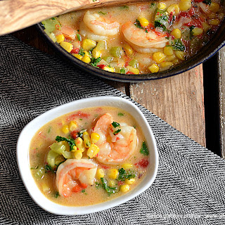 Spicy Coconut Shrimp Soup.