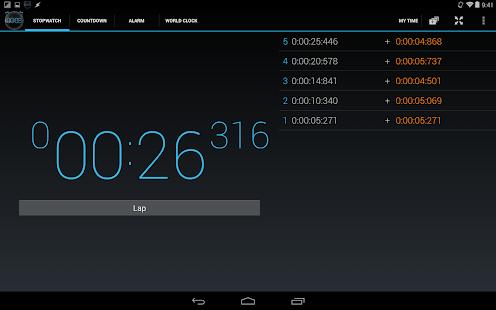 Timer - Stopwatch & Alarm - screenshot thumbnail