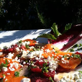 Blood Orange, Mint and Feta Salad