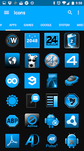 SteelBlue Icon Pack- screenshot thumbnail