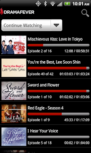 DramaFever - Kdramas & TV - screenshot thumbnail