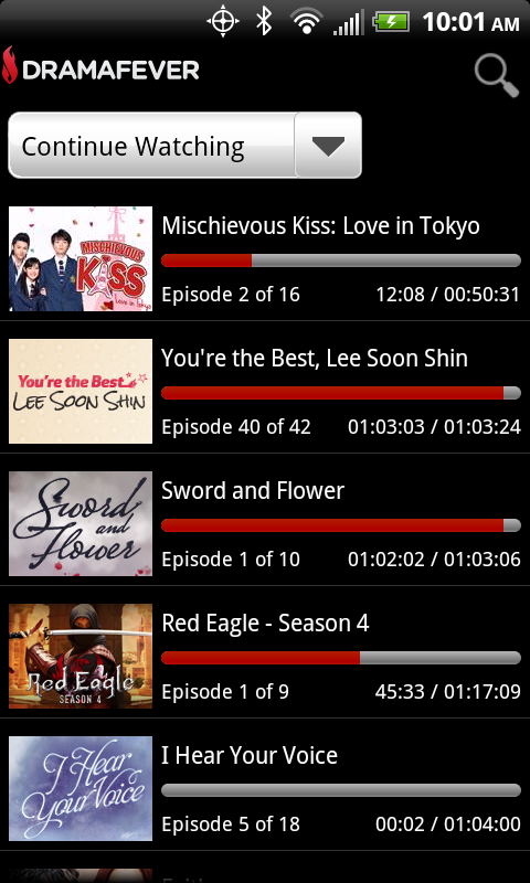 DramaFever - Kdramas & TV - screenshot
