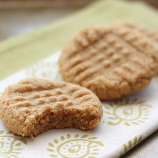 Old Fashioned 3 Ingredient Peanut Butter Cookies.