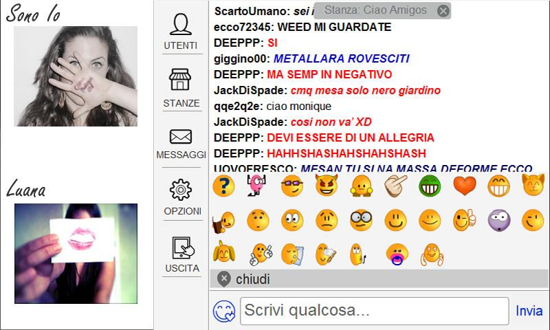 ciao aMigos.it  - videochat - screenshot