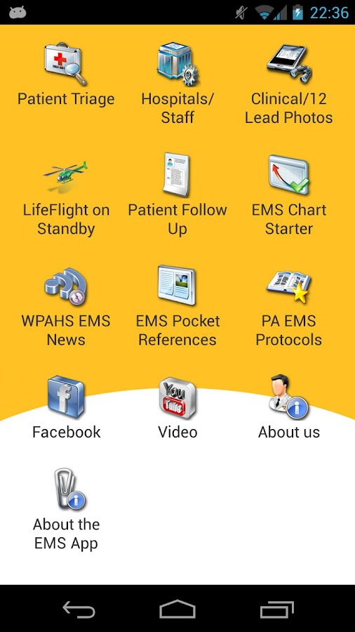 EMS Field Partner - screenshot