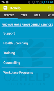 OzHelp- screenshot thumbnail