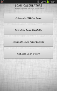 All Loans EMI Calculator- screenshot thumbnail