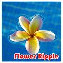 Flower Ripple Live Wallpaper icon