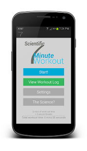 Scientific 7 Minute Workout - screenshot thumbnail