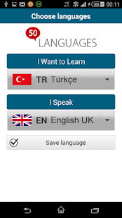 Learn Turkish - 50 languages - screenshot thumbnail