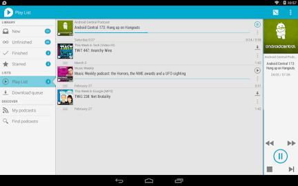 uPod Podcast Player Screenshot 20