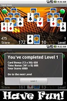 Screenshot of Triple Stack HD (Pyramids)