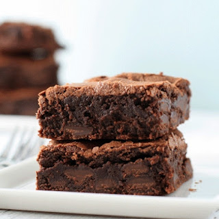 Fudgy, Chewy, Cakey Brownies
