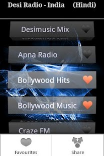 Desi Radio- Hindi,Tamil,Telugu - screenshot thumbnail