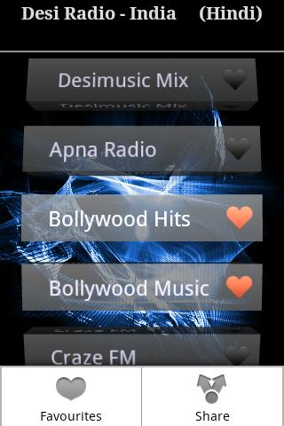 Desi Radio- Hindi,Tamil,Telugu - screenshot