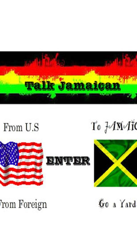 Talk Jamaican- screenshot