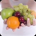 Cómo seguir una dieta sana icon