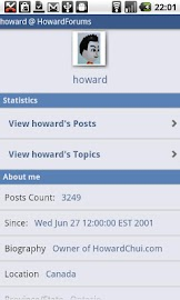 The HowardForums App Screenshot 6