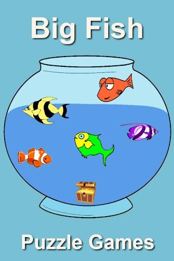 Big Fish Bowl Puzzle Games