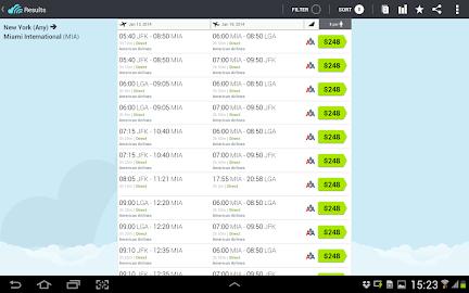 Skyscanner - All Flights! Screenshot 2