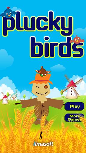 Plucky birds