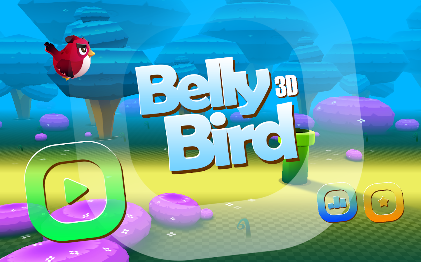 Belly Bird 3D- screenshot