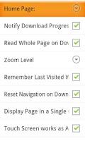 Screenshot of Accessible Web Browser UK