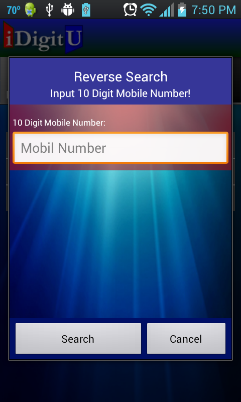 iDigitU - screenshot