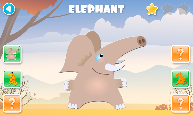 SCROLL PUZZLES for kids FREE - screenshot