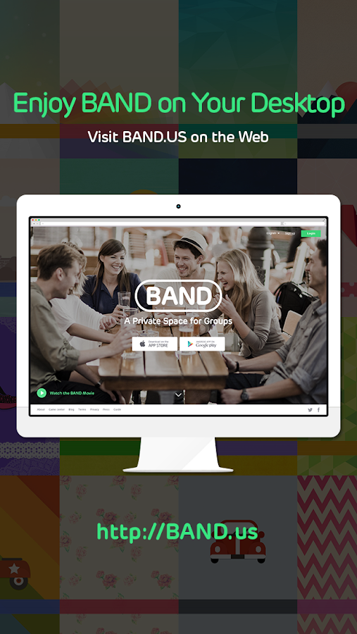BAND - app for groups - screenshot