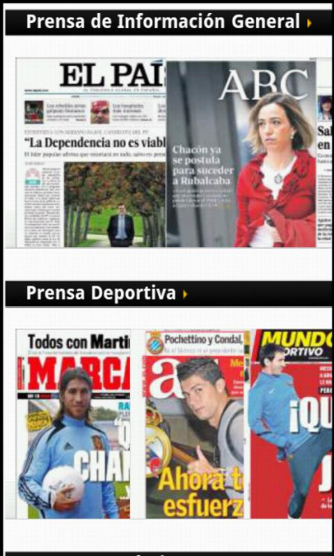 La Prensa (España) - screenshot