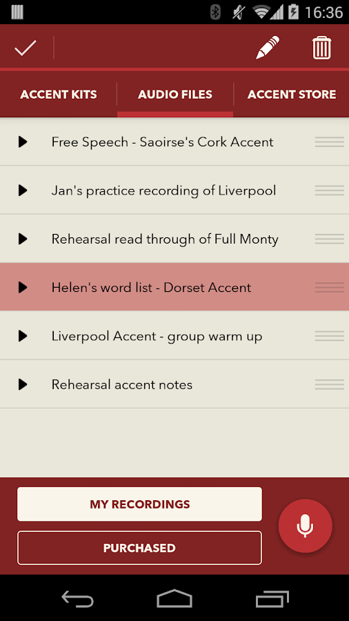 The Accent Kit- screenshot