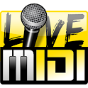 Karaoke Live MIDI Player DEMO icon