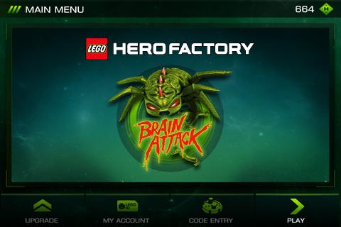 LEGO® HeroFactory Brain Attack - screenshot