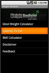 Weight Analyzer - screenshot thumbnail